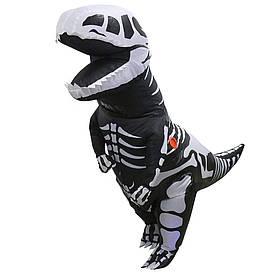 Надувний костюм Скелет Динозавра
