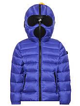 Детское пальто пуховик для девочки AI RIDERS Италия CG015GT CD4 215 Синий