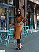 Жіноче весняне пальто великого розміру, розміри 48-52, 54-58, фото 2