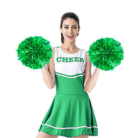 Помпон черлидера Pom Poms (зелений)