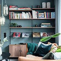 Стеллажи, книжные шкафы
