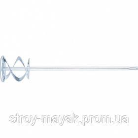 Миксер оцинкованный для красок и штукатурных смесей 80 х 400 мм хвостовик SDS Plus MTX