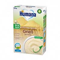 Каша безмолочная пшеничная органическая 4м+ 200г Humana Германия 77552
