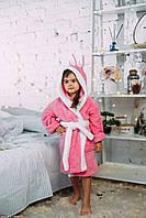 Халат детский теплый махровый (софт), на 3/4, 5/6 лет, Massimo Monelli