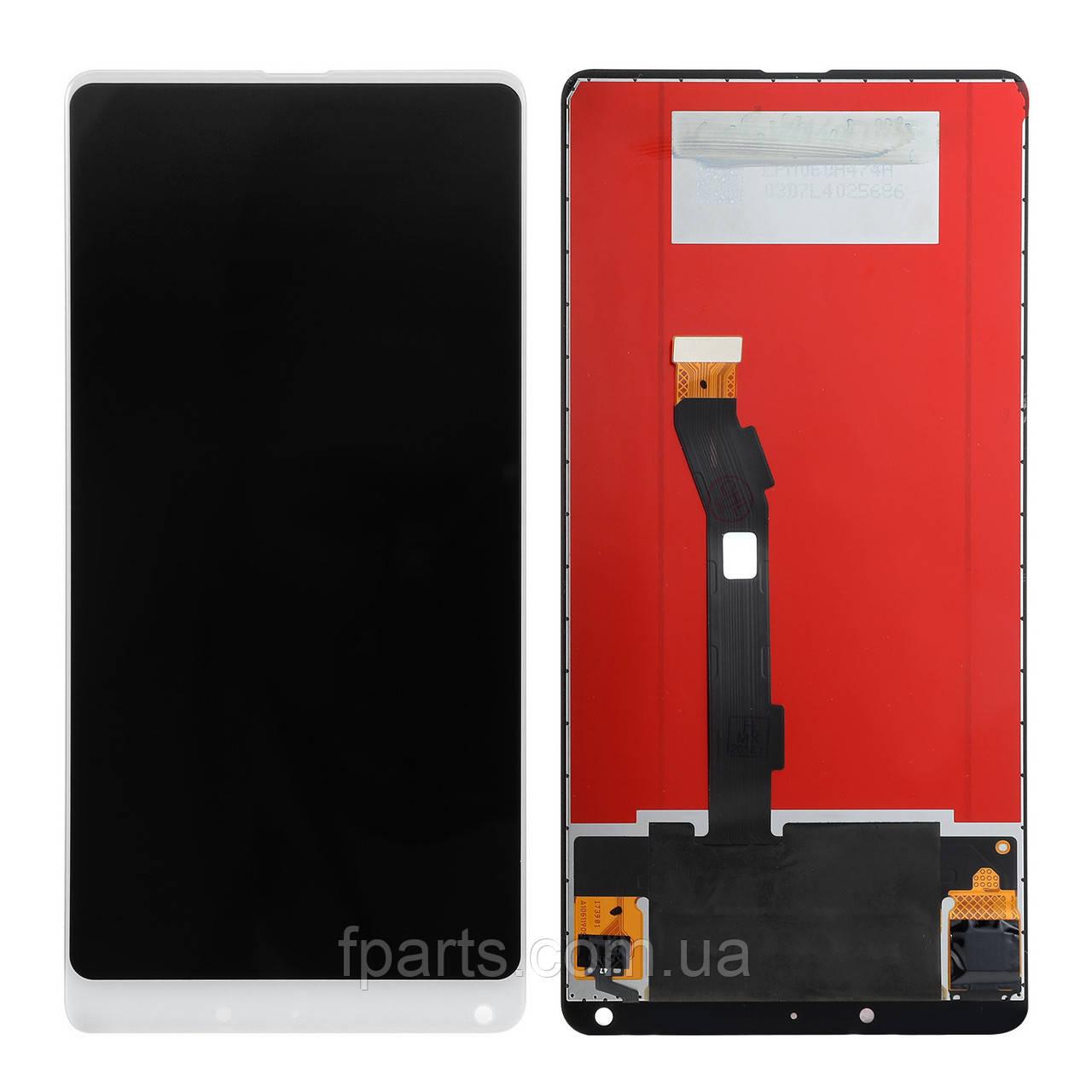 Дисплей для Xiaomi Mi Mix 2, Mi Mix 2S с тачскрином, White (Original PRC)