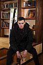 Куртка зимова Оверсайз чорна, фото 6