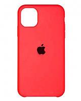 Чохол Silicone Case для Apple iPhone 11 Pro Max Shiny pink