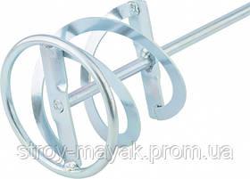 Миксер оцинкованный для красок и штукатурных смесей 120 х 600 мм хвостовик SDS Plus MTX