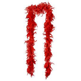 Боа з пір'я 80г (червоне)