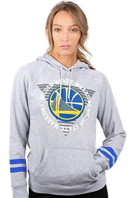 Спортивная флисовая кофта Ultra Game NBA Womens Soft Fleece Pullover Hoodie -  Heather Gray (L)