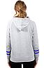 Спортивная флисовая кофта Ultra Game NBA Womens Soft Fleece Pullover Hoodie -  Heather Gray (L), фото 2