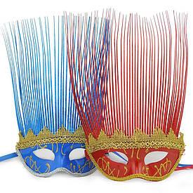 Венеціанська маска Коломбіна (асорті)