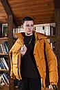 Куртка зимова Оверсайз оранж, фото 3