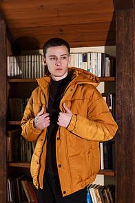 Куртка зимова Оверсайз оранж
