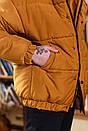 Куртка зимова Оверсайз оранж, фото 5