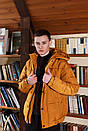 Куртка зимова Оверсайз оранж, фото 8