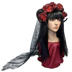 Прикраса на голову з рогами Лейла 10237