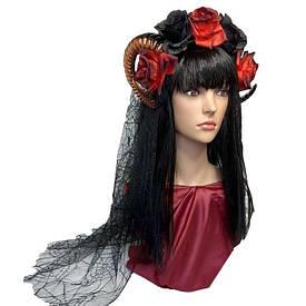 Прикраса на голову з рогами Ламія 10236