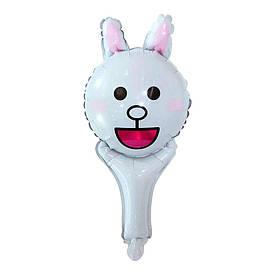 Кулька з надувний ручкою Зайчик