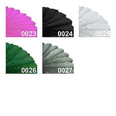 Бумажная гирлянда веерный круг (тишью) 25см (фиолетовый 0021), фото 3