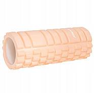 Массажный ролик валик, роллер Springos 33 x 14 см FR0021 Light Orange, КОД: 2417762