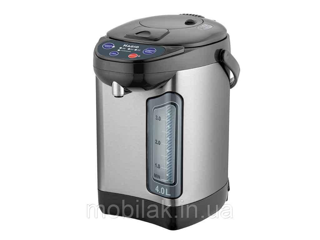 Термопот МG-967 4л, 900Вт, 3 способи подачі води,3 температурні режими ТМ MAGIO