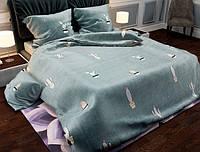 Семейный набор хлопкового постельного белья из Бязи Gold 154200 Черешенка BC4G154200, КОД: 1891493