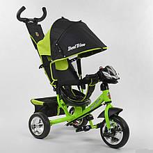 Велосипед трехколесный 6588 - 23-612 Best Trike Салатовый