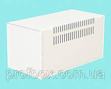 Корпус металевий MB-12 (Ш160 Г325 В160) білий, RAL9016(White textured)