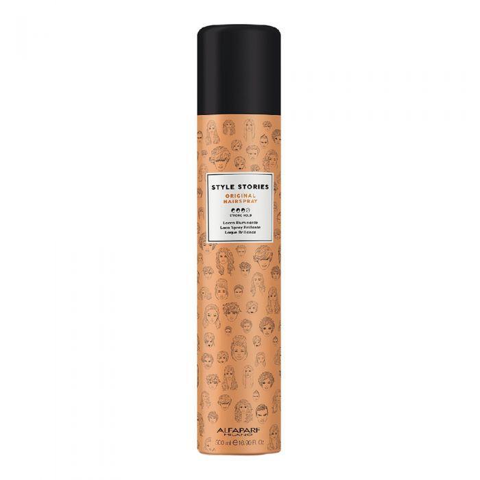 Лак для волос Alfaparf Original Hairspray Style Stories сильной фиксации 500 мл.