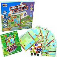 Настольная игра Fun game «Малюнки та логіка: жителі озера» (украинский язык), UKB-B0030