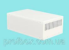 Корпус металевий MB-15 (Ш250 Г150 В90) білий, RAL9016(White textured)