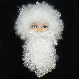 Набір Діда Мороза (перуку, борода)