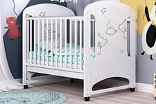 Детские деревянные кроватки для новорожденных