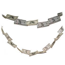Грошова гірлянда Долари