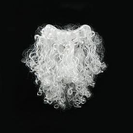 Борода Діда Мороза 30см середня