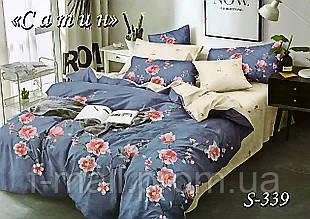 Комплект постельного белья Тет-А-Тет ( Украина ) Сатин полуторное (S-339)