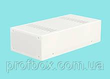 Корпус металевий MB-3 (Ш120 Г240 В65) білий, RAL9016(White textured)