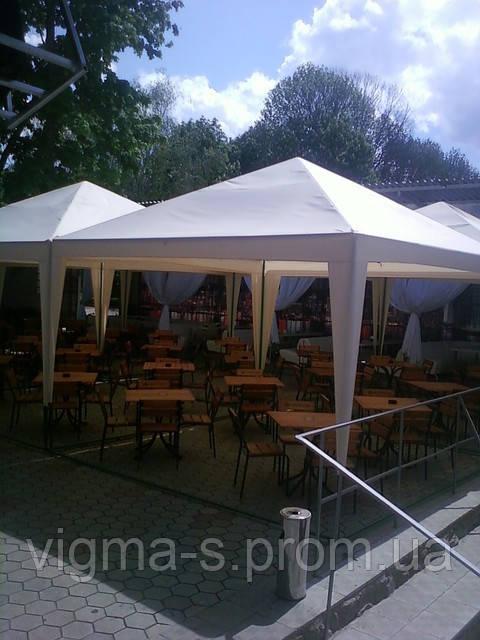 Пошив палаток и шатров на каркас павильона