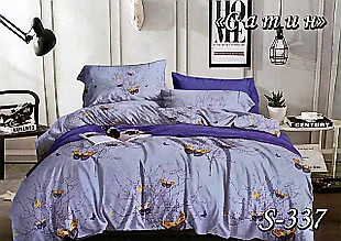 Комплект постельного белья Тет-А-Тет ( Украина ) Сатин полуторное (S-337)