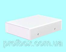 Корпус металевий MB-44 (Ш75 Г102 В25) білий, RAL9016(White textured)