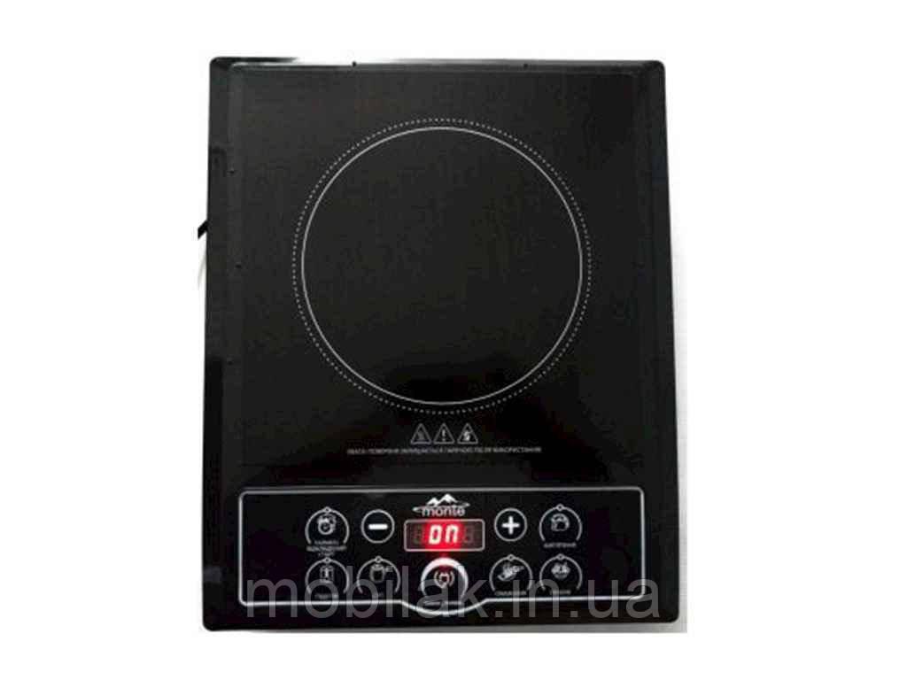 Електроплитка індукційна SIC-2000-BL 2000Вт 6 програм ТМ Satori