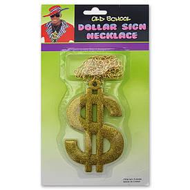 Долар-кулон на ланцюжку