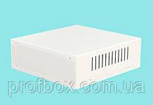 Корпус металевий MB-5 (Ш190 Г200 В65) білий, RAL9016(White textured)