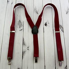Підтяжки (червоні)