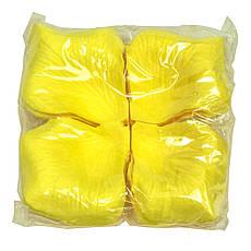 Лепестки роз (упаковка 120шт) желтые, фото 3