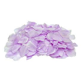 Лепестки роз (упаковка 300шт) сиреневые