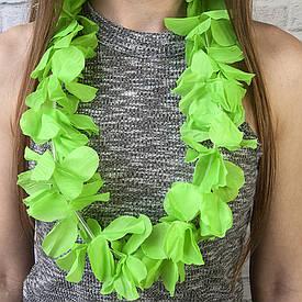 Гавайські леї Орхідеї (зелені)