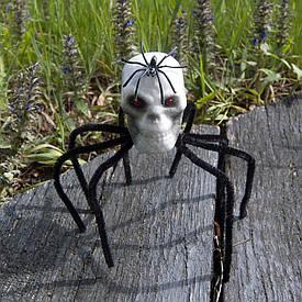 Декор Павук-череп (чорний)
