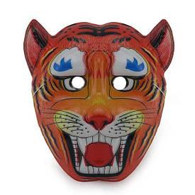 Маска Дитяча Тигр (уп. 12шт) пластик